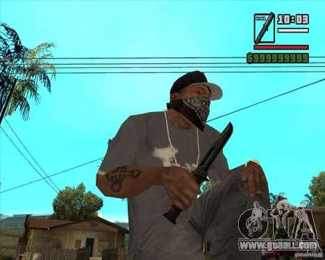 Millenias Weapon Pack for GTA San Andreas sixth screenshot