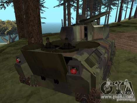 M2A3 Bradley for GTA San Andreas right view
