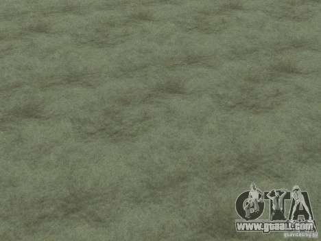 HD textures of the seabed for GTA San Andreas sixth screenshot