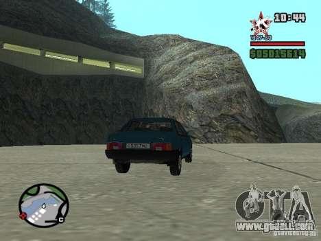Todas Ruas v3.0 (San Fierro) for GTA San Andreas fifth screenshot