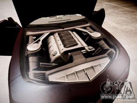 Chevrolet Camaro SS 2010 for GTA 4 inner view