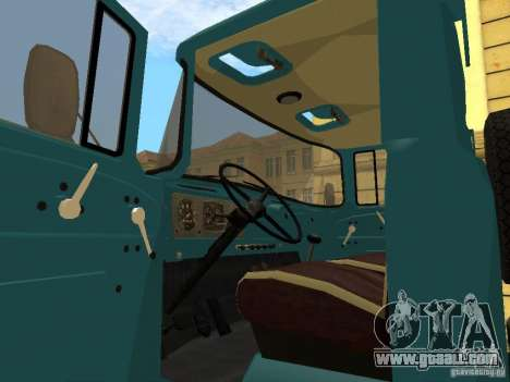 ZIL 130 for GTA San Andreas back left view