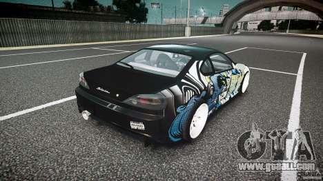 Nissan Silvia S15 Drift v1.1 for GTA 4 upper view