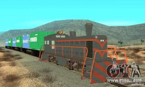 Lokomotive for GTA San Andreas