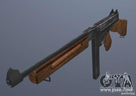 M1 Thompson for GTA San Andreas second screenshot