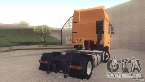 DAF XF Euro 6 for GTA San Andreas left view