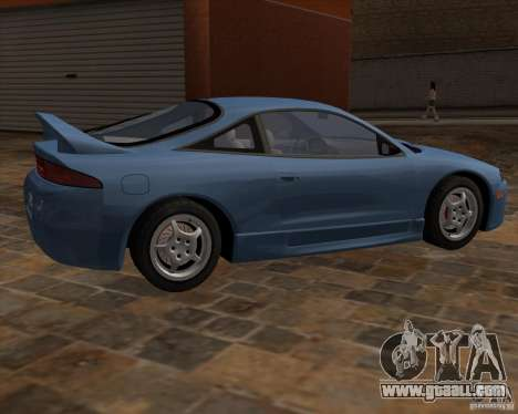 Mitsubishi Eclipse GST from NFS Carbon for GTA San Andreas right view