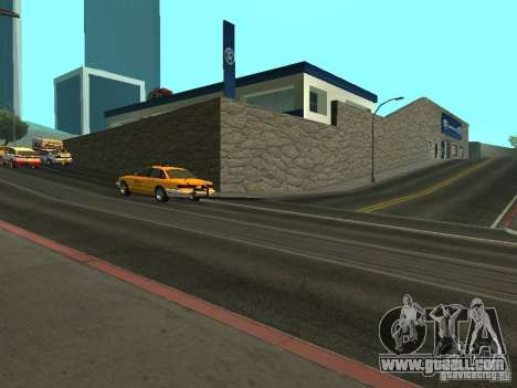 Auto Show Ford for GTA San Andreas third screenshot