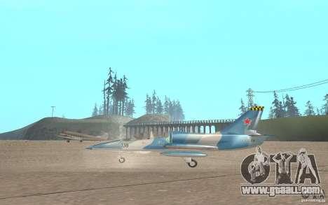 L-39 Albatross for GTA San Andreas back left view