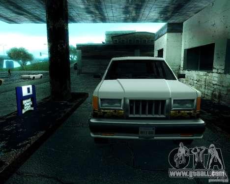 Landstalker for GTA San Andreas left view