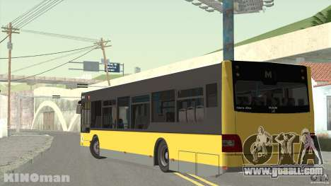 MAN Lion City for GTA San Andreas left view