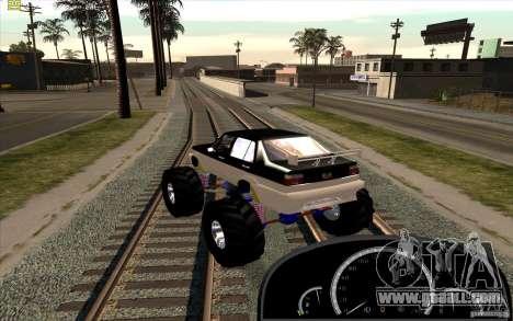 Jetta Monster Truck for GTA San Andreas left view