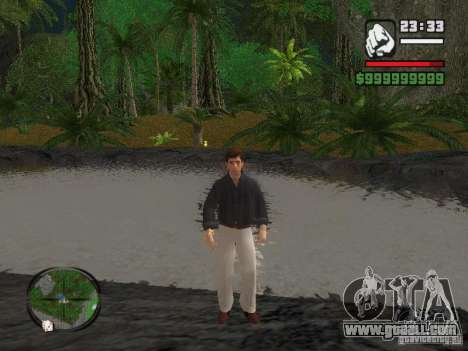 Tony Montana in a shirt for GTA San Andreas