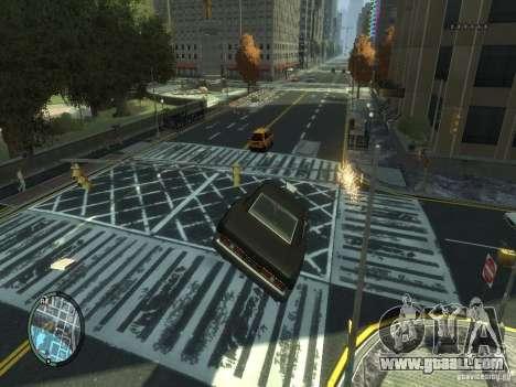 Road Textures (Pink Pavement version) for GTA 4 third screenshot