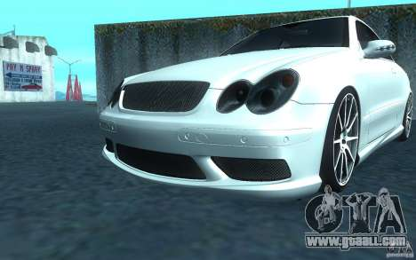 Mercedes-Benz CLK55 AMG for GTA San Andreas left view