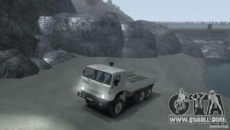 KAMAZ 4310 for GTA 4 left view