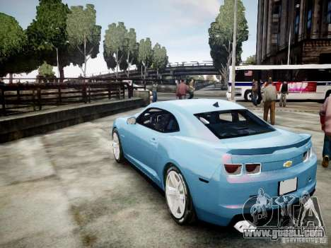 Chevrolet Camaro ZL1 for GTA 4 left view