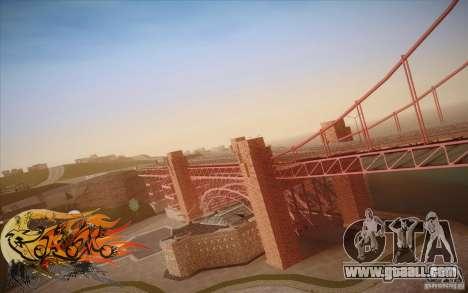 New Golden Gate bridge SF v1.0 for GTA San Andreas sixth screenshot