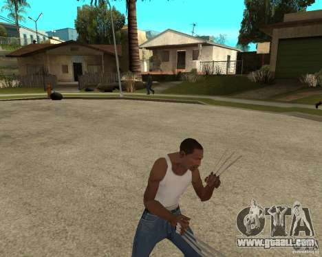 Wolverine mod v1 (Scooby-Doo) for GTA San Andreas seventh screenshot