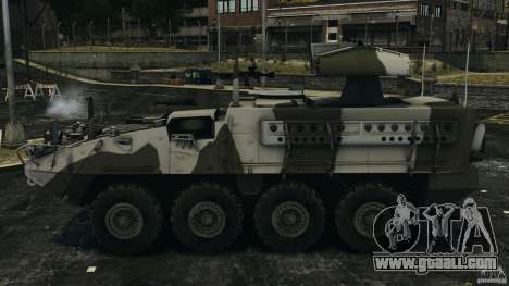 Stryker M1134 ATGM v1.0 for GTA 4 left view