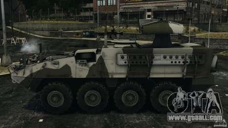 Stryker M1134 ATGM v1.0 for GTA 4 left view