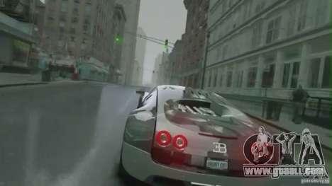 Bugatti Veyron 16.4 Super Sport for GTA 4 inner view