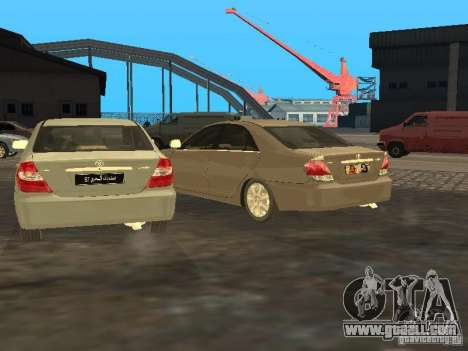 Toyota Camry 2003 for GTA San Andreas inner view