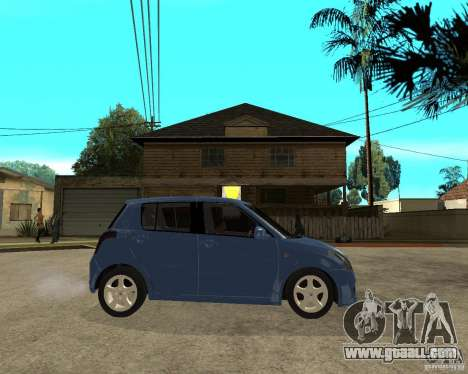 2007 Suzuki Swift for GTA San Andreas right view