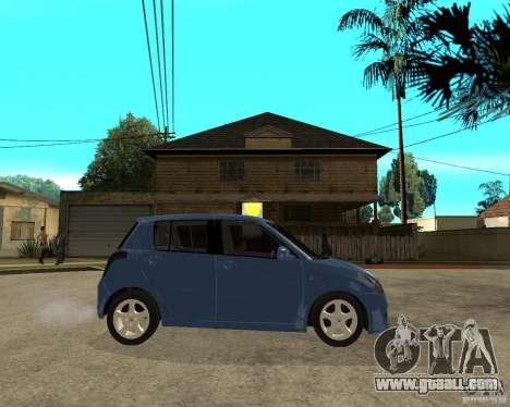 2007 Suzuki Swift for GTA San Andreas right view