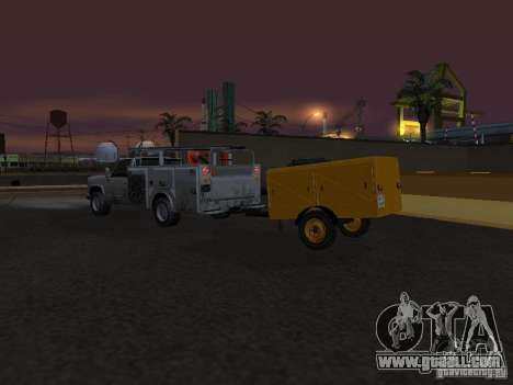 Trailer compressor station for GTA San Andreas inner view