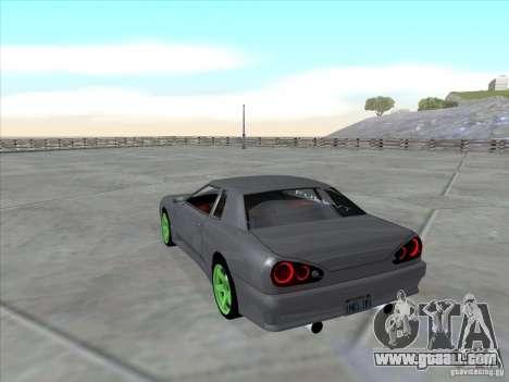 Elegy Full VT v1.2 for GTA San Andreas left view
