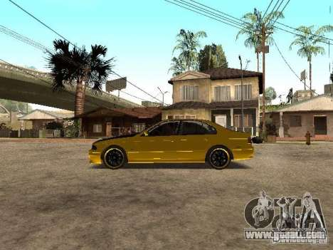 BMW M5 for GTA San Andreas left view