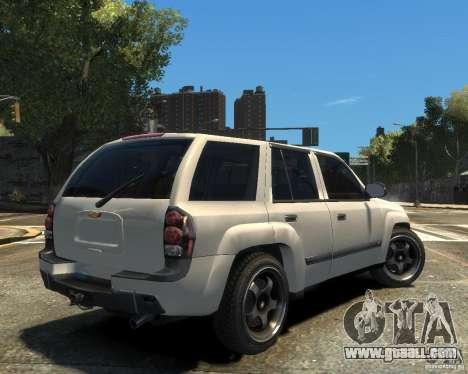 Chevrolet TrailBlazer v.1 for GTA 4 right view