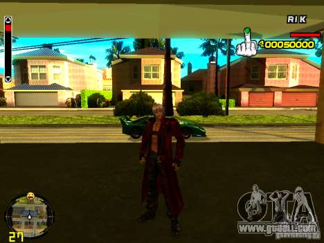 Dante for GTA San Andreas