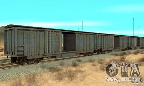 Wagon for GTA San Andreas left view