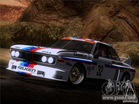 BMW CSL GR4 for GTA San Andreas side view