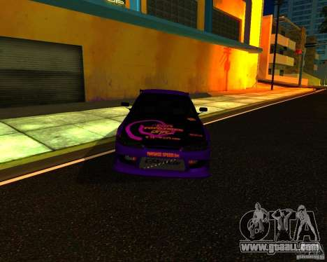 Nissan Silvia C-West for GTA San Andreas left view
