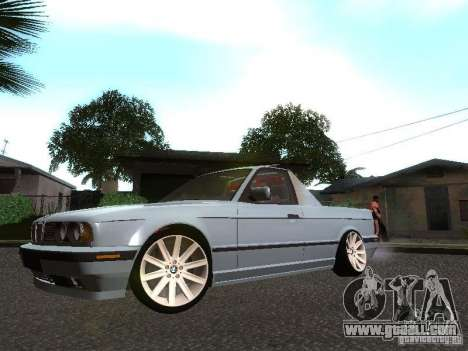 BMW E34 Pickup for GTA San Andreas