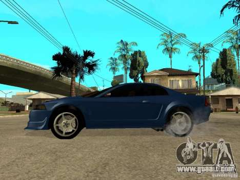 Ford Mustang Cobra R Tuneable for GTA San Andreas left view