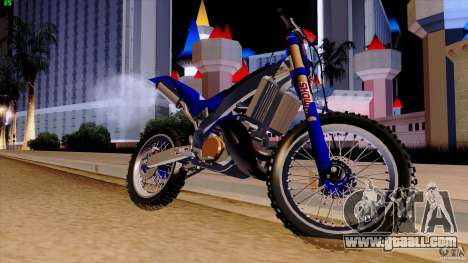 Honda CR 250 Stunt for GTA San Andreas