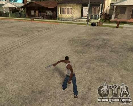 Wolverine mod v1 (Scooby-Doo) for GTA San Andreas tenth screenshot