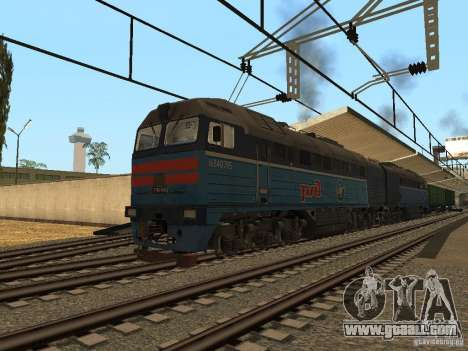RAILROAD modification III for GTA San Andreas third screenshot