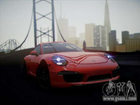 Porsche 911 (991) Carrera S for GTA San Andreas