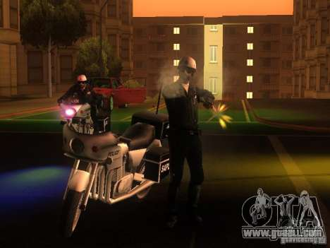 New settings for cops for GTA San Andreas