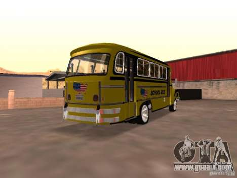 Bedford School Bus for GTA San Andreas right view