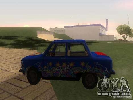 Hippie ZAZ for GTA San Andreas left view