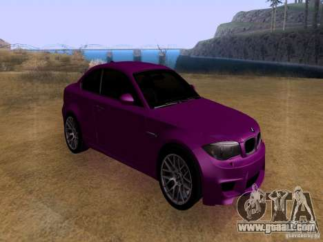 BMW 1M  2011 for GTA San Andreas