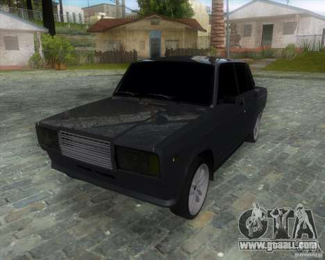 VAZ 2107 Drift Enablet Editional i3 for GTA San Andreas
