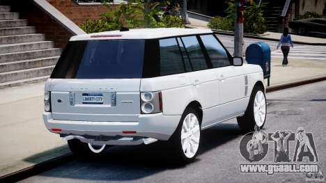 Range Rover Supercharged 2009 v2.0 for GTA 4 side view
