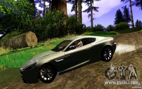 Aston Martin Virage V1.0 for GTA San Andreas right view